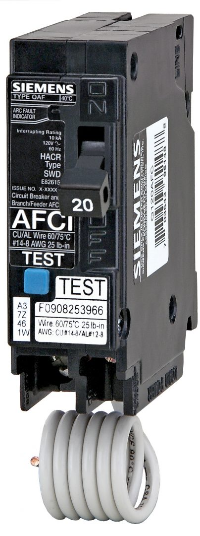 Afci  Arc Fault Circuit Interrupter