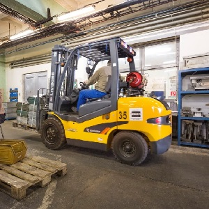 Lift Truck Operator Safety