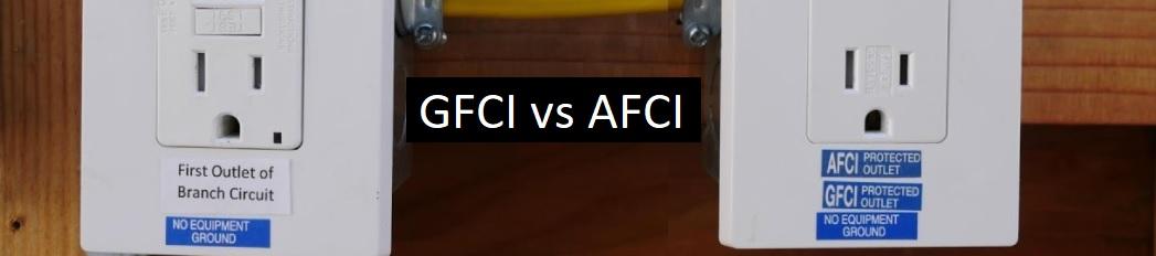 GFCI vs AFCI