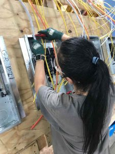 Electrical Prefabrication Ideas, electric prefab process
